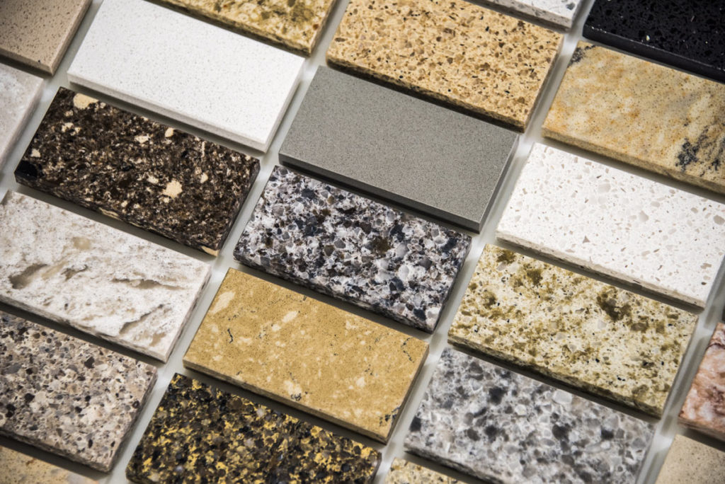 kitchen worktop samples